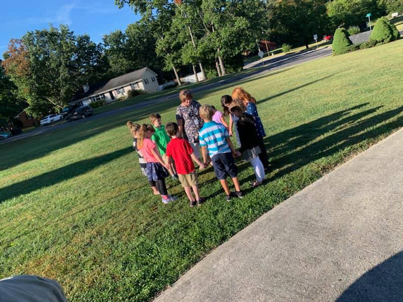 Ridgeview Christian School kids