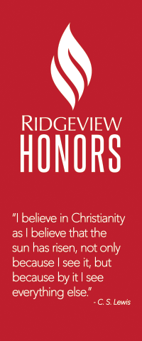 Ridgeview Christian School Honors Program